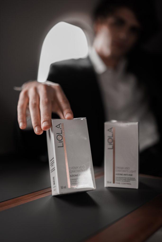 crema viso light e rich linea time control Liolà Cosmetics