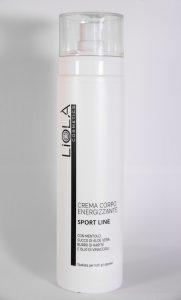 Crema corpo energizzante sport Liolà Cosmetics