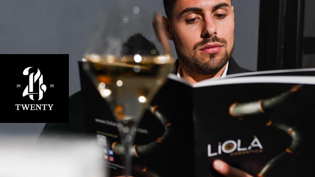Bar à champagne Twenty & Liolà Cosmetics
