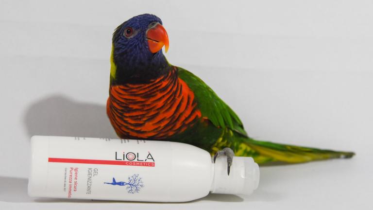 gel igienizzante linea 360° 72% alcol liolà cosmetics