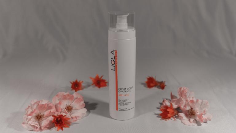 crema corpo idratante linea 360° liolà cosmetics